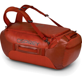 """Osprey Transporter 65 Backpack Ruffian Red"""